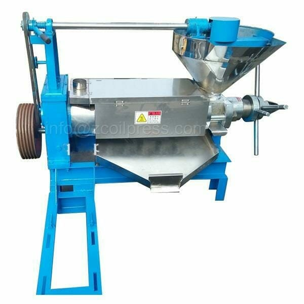 canola oil pressing machine