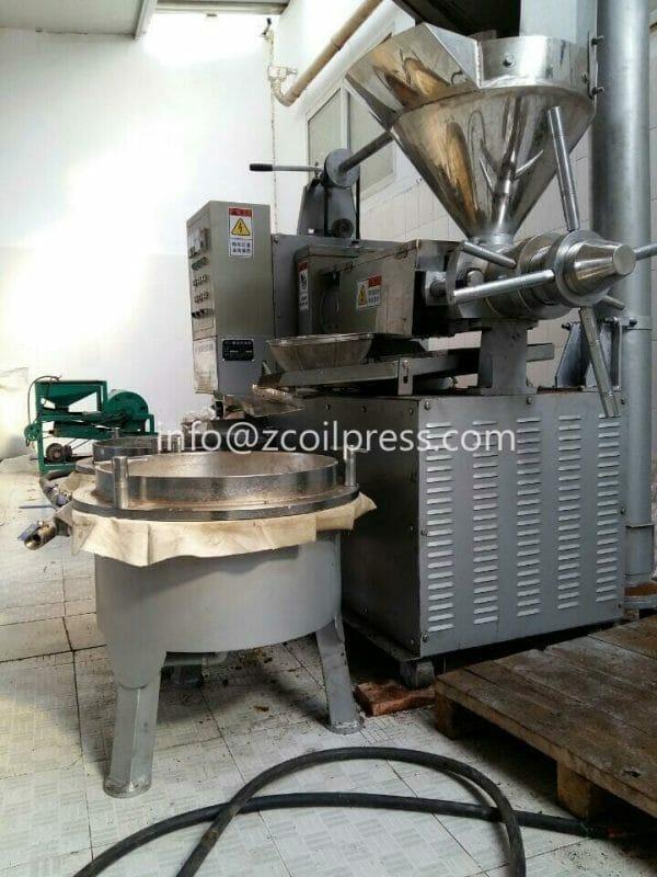 120 oil expeller machine