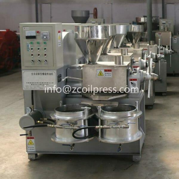 hot pressed oil press