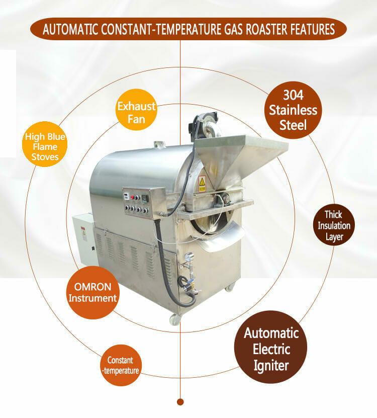 gas peanut roaster for sale