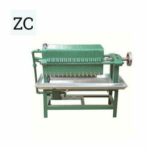 late and frame filter press