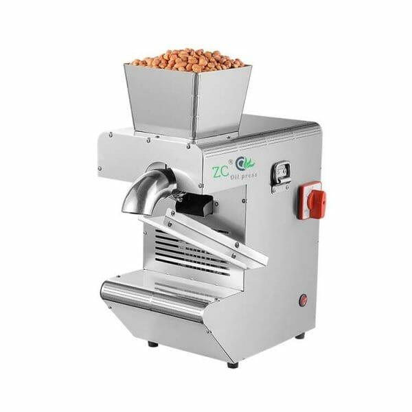 Home peanut oil press