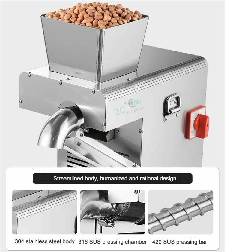 10kg peanut oil press home