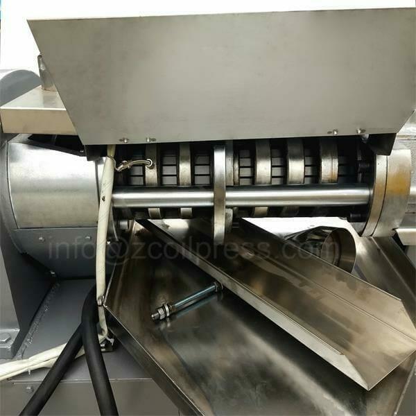 oil expeller chamber