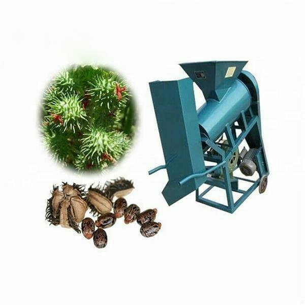 castor seed shelling machine