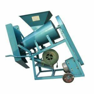 castor seeds shelling machine