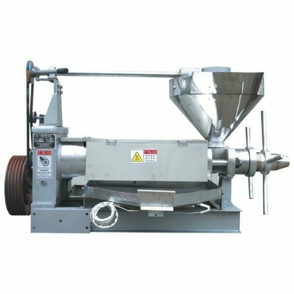 peanut oil press expeller