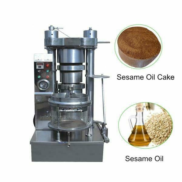 commercial sesame oil press