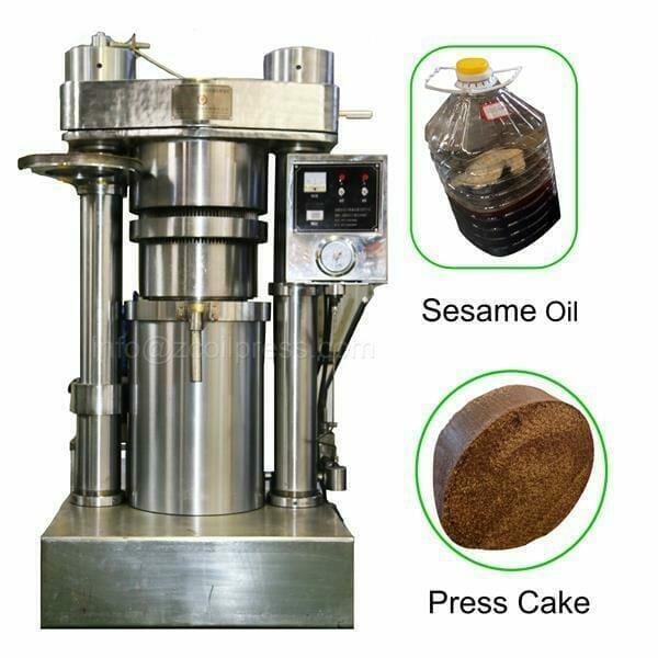 sesame oil press