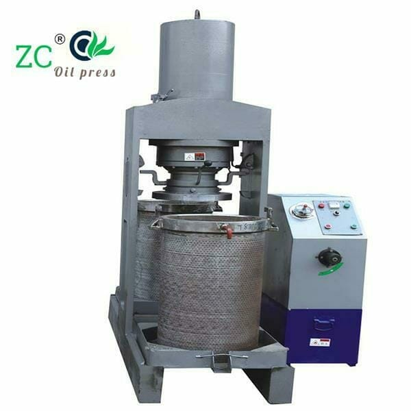 almond hydraulic oil press