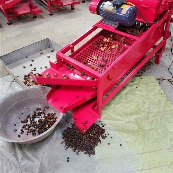 camellia fruit shelling machine
