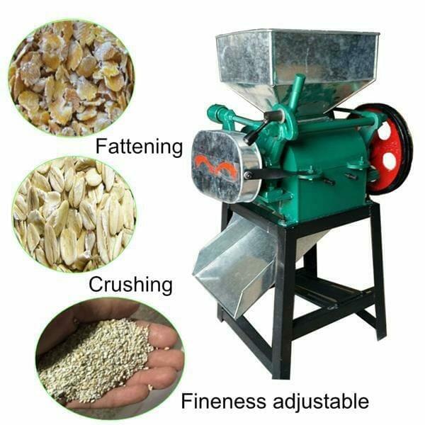 soybean flakes machine