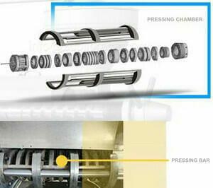 pressing chamber