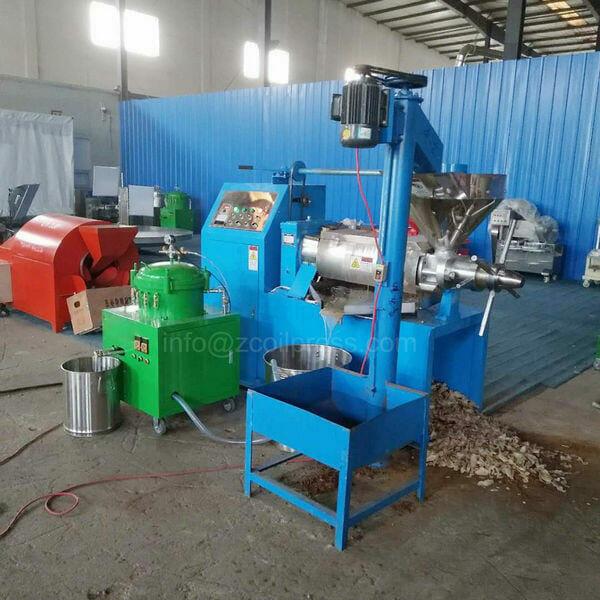 small oil filter press